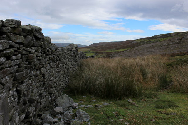 View along the Northern Edge of Whitaside Moor