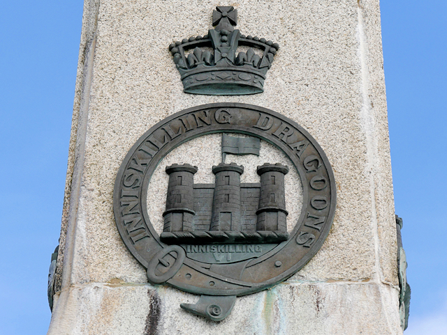 Dragoons Badge, Enniskillen Boer War Memorial