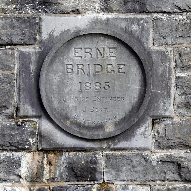 Enniskillen Erne Bridge (detail)
