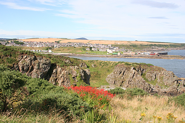Portsoy from the East