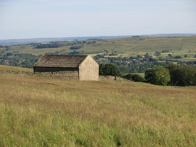 Barn above Hunter's Well House