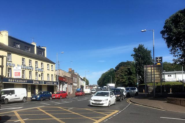 Forthill Street (A32), Enniskillen