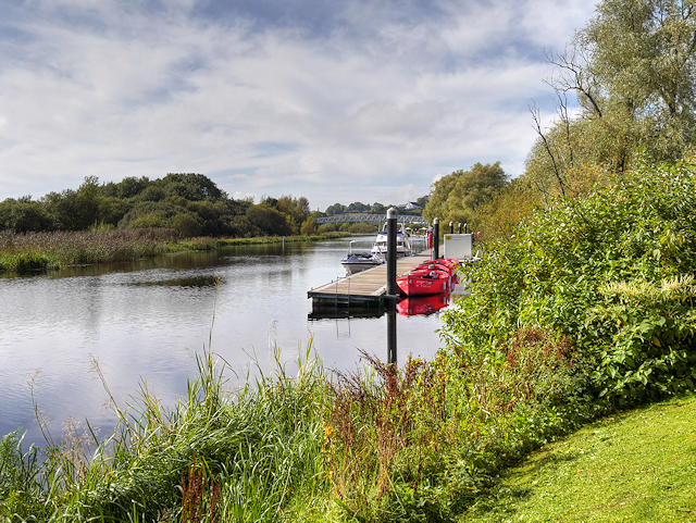 River Erne, Moorings at Enniskillen