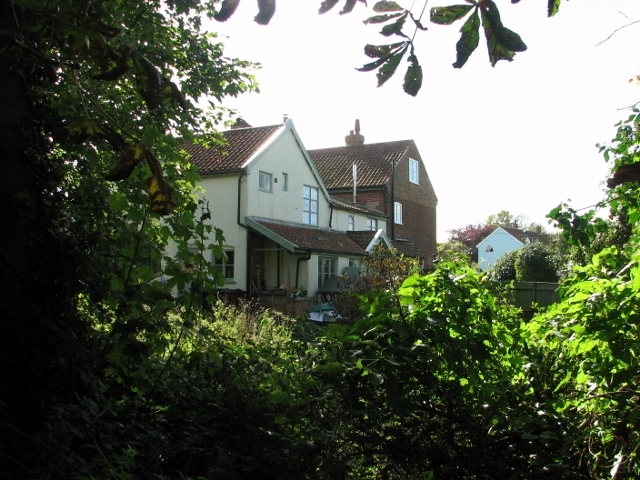 Houses on Swardeston Common