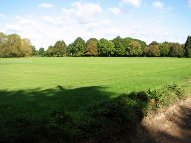 The playing field at Swardeston Common