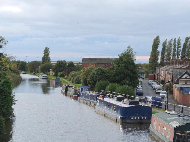 The Leeds - Liverpool Canal at Burscough