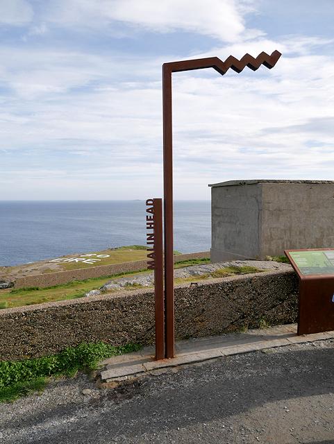 The Wild Atlantic Way at Malin Head