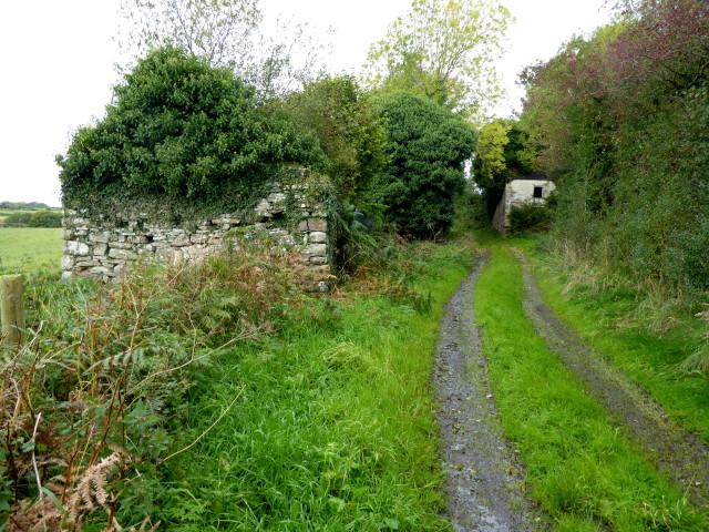 Ruined farm building, Kirlish