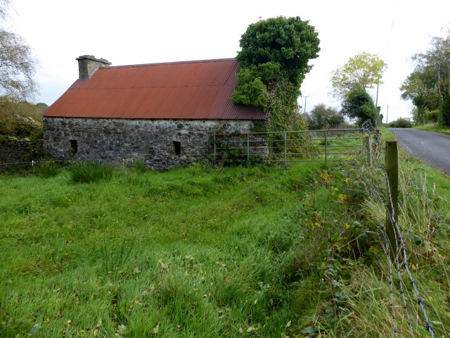 Ruined cottage, Killen (rear view)