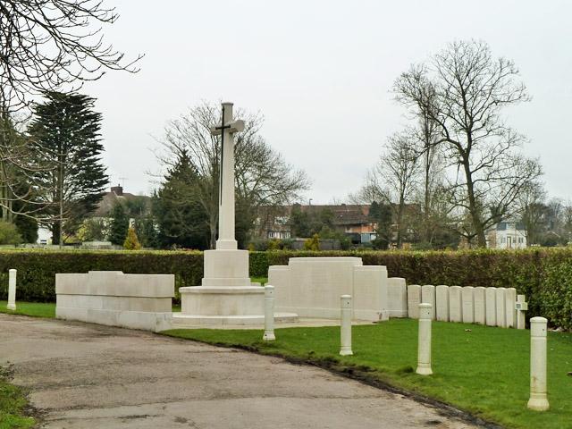 War memorial, Hendon Cemetery