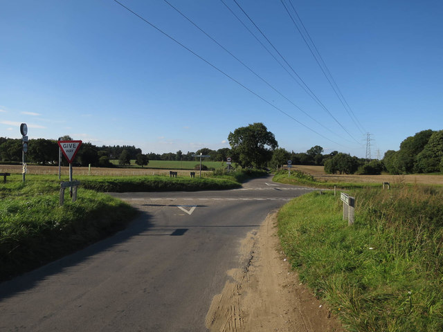 Crossroads with Marl Hill Road