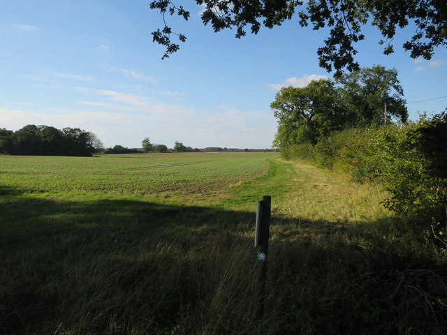 Permissive path by Reepham Road