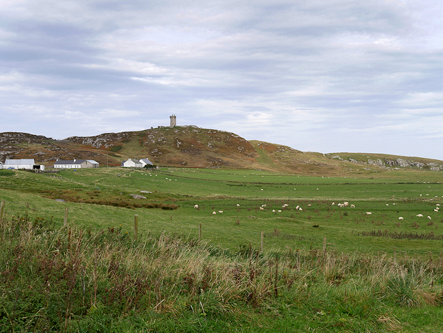 Ballyhillin, View Towards the Signal Tower on Malin Head
