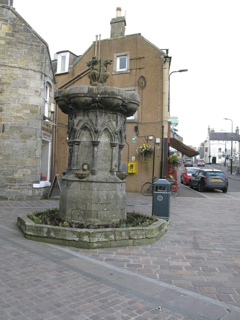 Fountain, High Street, Kinross