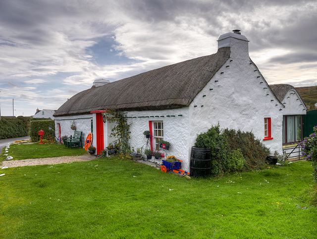 Thatched  Cottage at Ballyhillin