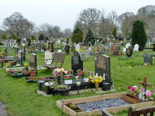 In Hendon Cemetery