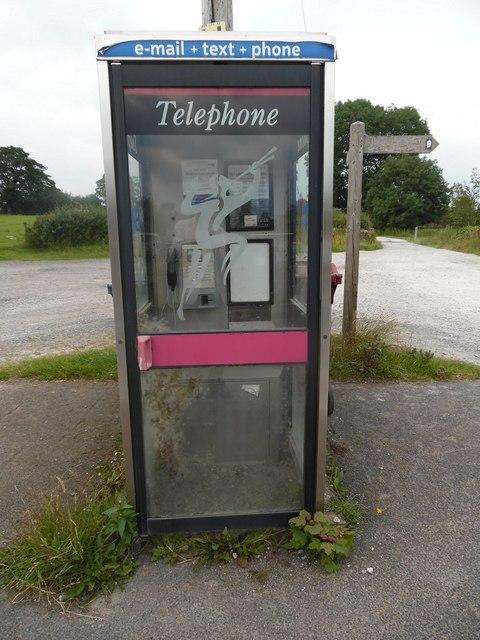 KX100 Telephone Box in Paythorne