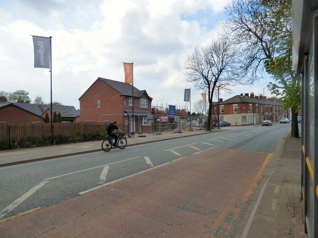 New Housing on Dukinfield Road
