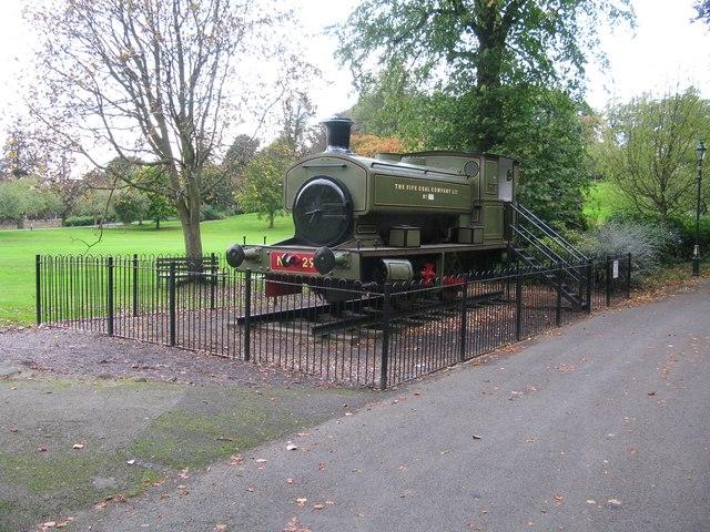 Locomotive, Pittencrieff Park, Dunfermline