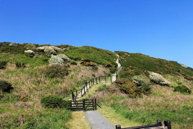 Steps to Barsalloch