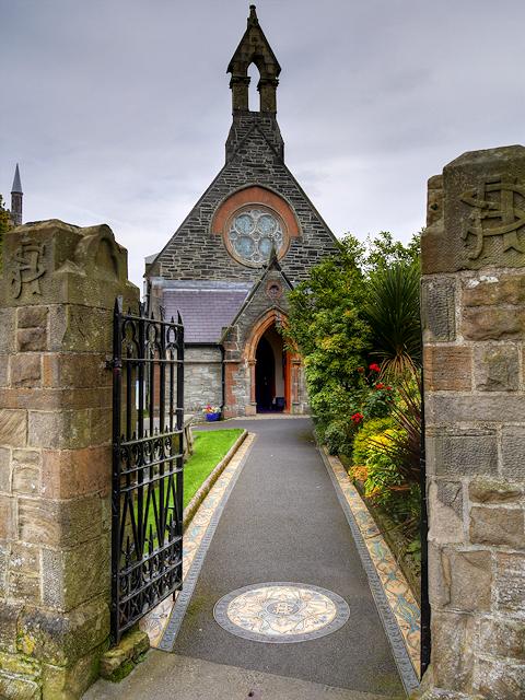 St Augustine's Church, Derry City Walls