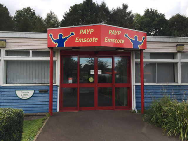 Entrance to PAYP, Nelson Lane, Warwick