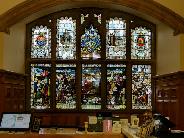Derry Guildhall Stained Glass