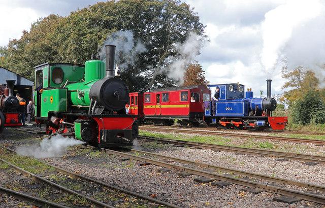 Leighton Buzzard Railway - Page's Park Station yard