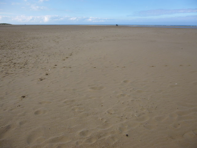 The beach at Wells-Next-The-Sea in Norfolk