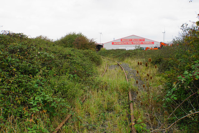 Former railway near Chittening Industrial Estate