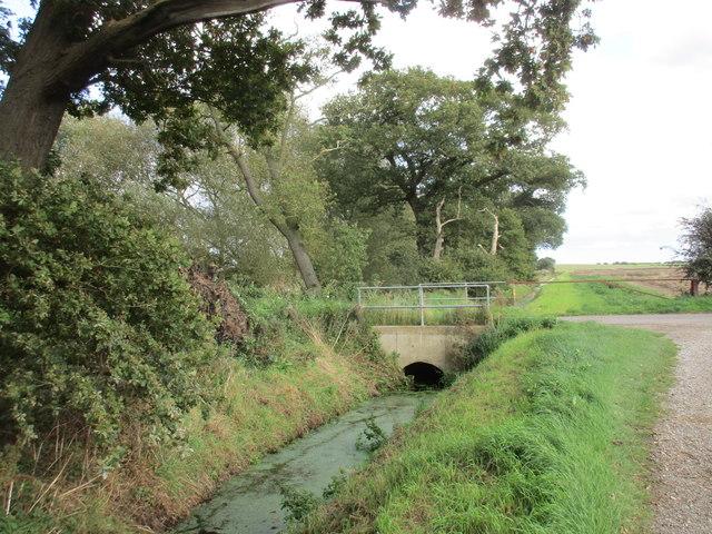 Bridge over a drain, Heigholme Lane