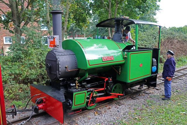 Leighton Buzzard Railway - Woto in Leedon Loop