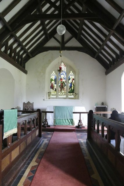 The Chancel in St Cannen