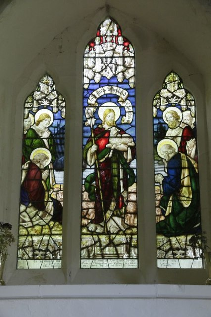 Chancel window Stained Glass