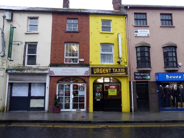 Serendipity / Urgent Taxis / The Bridge Pool Hall, Omagh