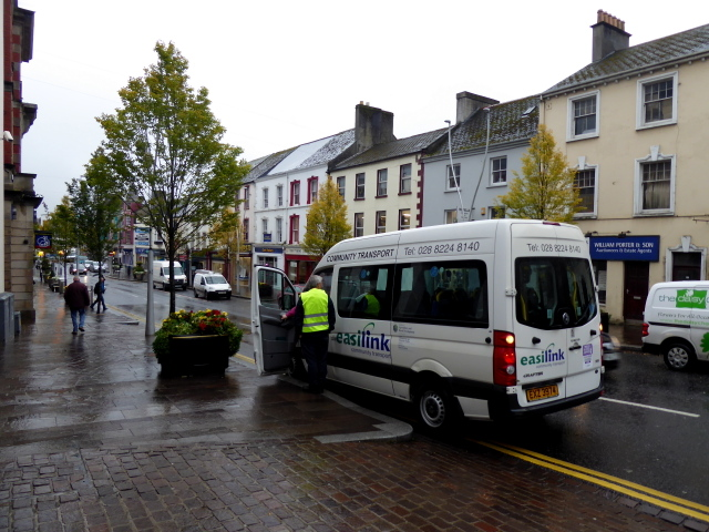 Community Transport bus, Omagh