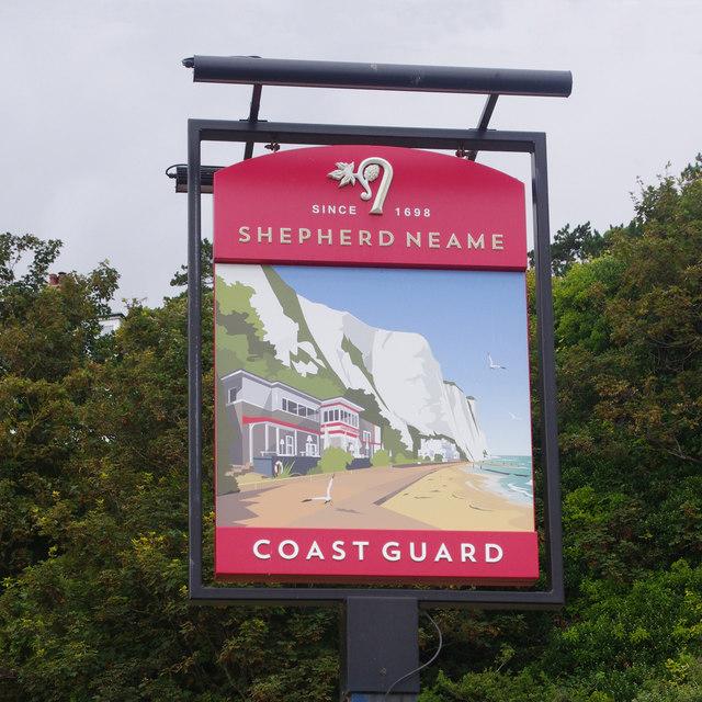 Coast Guard pub sign