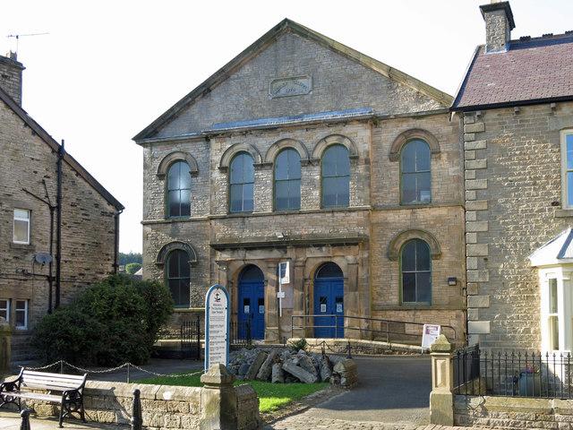 The Wesley Chapel, Chapel Row