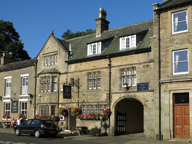 The Teesdale Hotel, Market Place