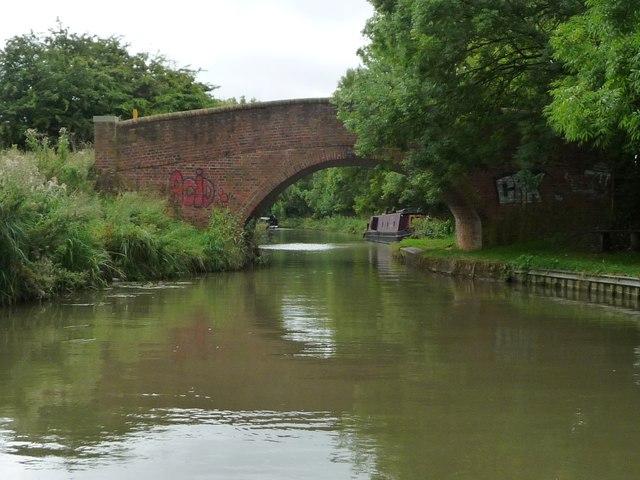 Fleckney Bridge [no 73], from the north