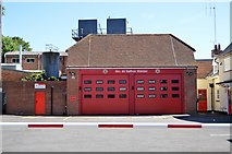 TL5338 : Saffron Walden Fire Station by N Chadwick