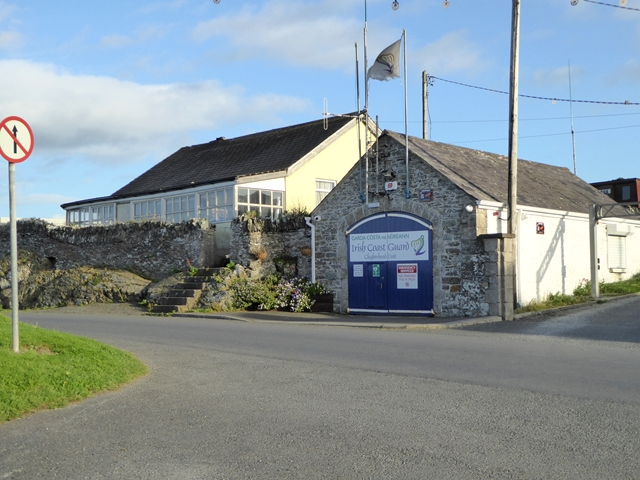 Coastguard station at Port Oriel