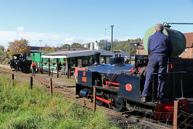 Leighton Buzzard Railway - Stonehenge Works Station
