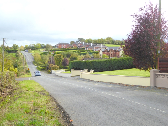 Road from Galbolie to Bailieborough