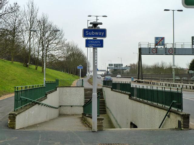 Subway under A1