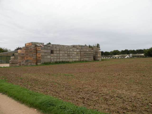 Crate wall, Home Farm