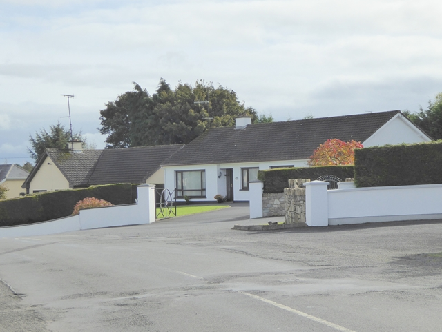 Bungalows on the back road from Galbolie to Bailieborough