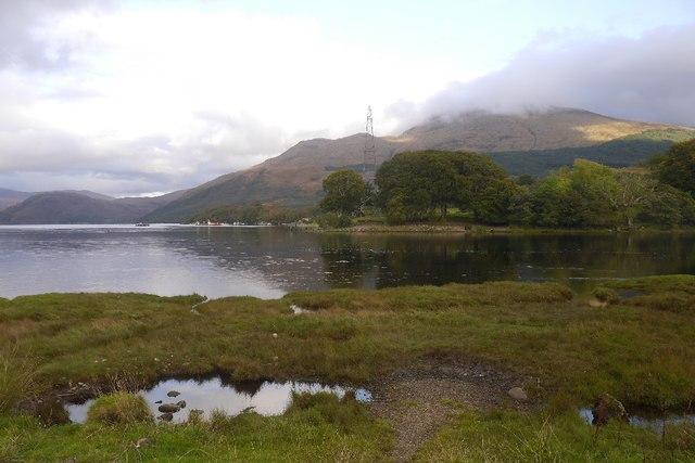 River Awe meets Loch Etive