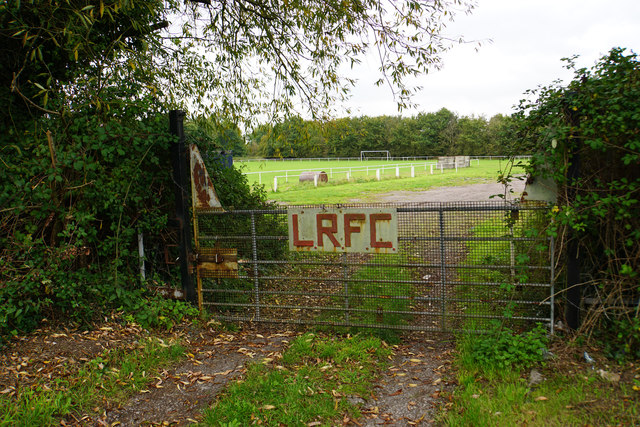 Entrance to Lawrence Rovers Football Club