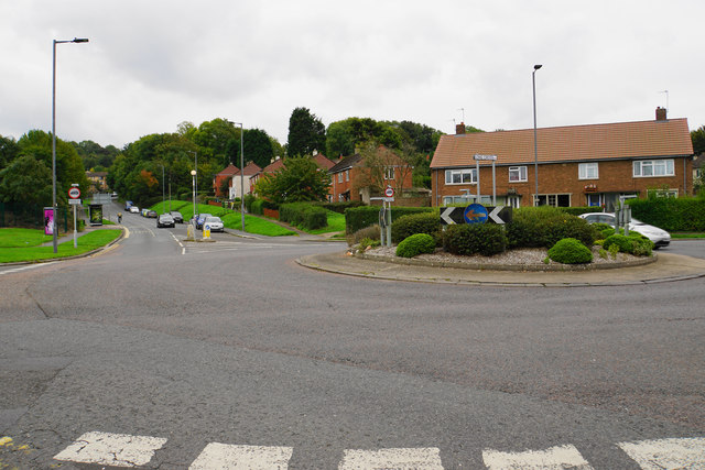 Long Cross roundabout